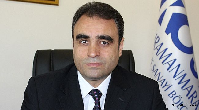 Kahramanmaraş OSB'ye yeni Bölge Müdürü