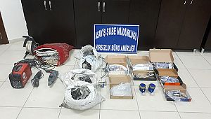 Kahramanmaraş'ta işyeri hırsızları yakalandı