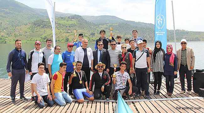 Kılavuzlu Su Sporları Merkezi Kano yarışlarına ev sahipliği yaptı