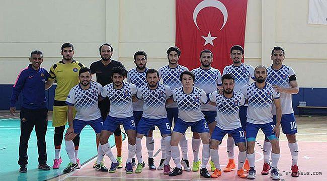 KSÜ Futsal, 62 Üniversite Takımı Arasında İlk 4'te yer aldı