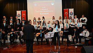 KSÜ Geleneksel Türk Halk Müziği Korosu ilk konserini verdi
