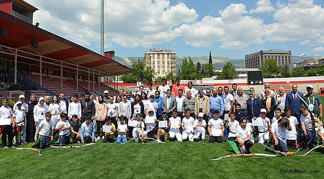 Okul sporları okçuluk il birinciliği turnuvası tamamlandı