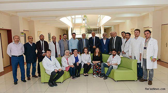 Rektör Prof. Dr. Niyazi Can, ÜSKİM'i inceledi