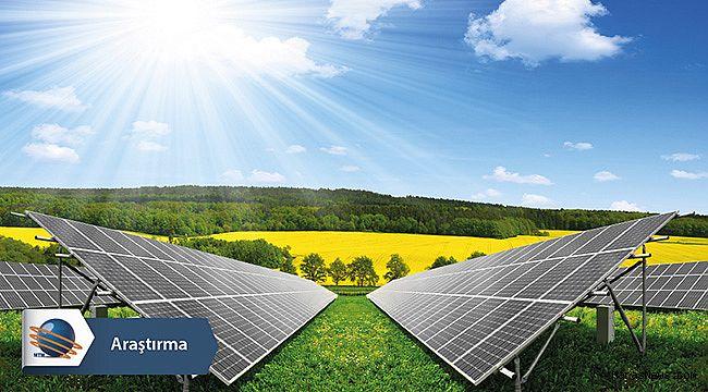 Türkiye güneş enerjisi üretiminde dünyada 13. sıraya yükseldi