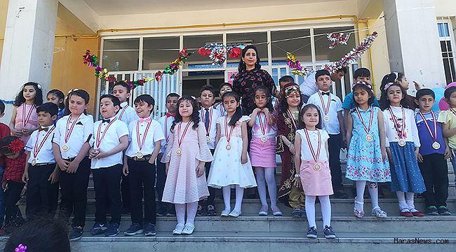 1. Sınıf öğrencileri okuma bayramı düzenledi