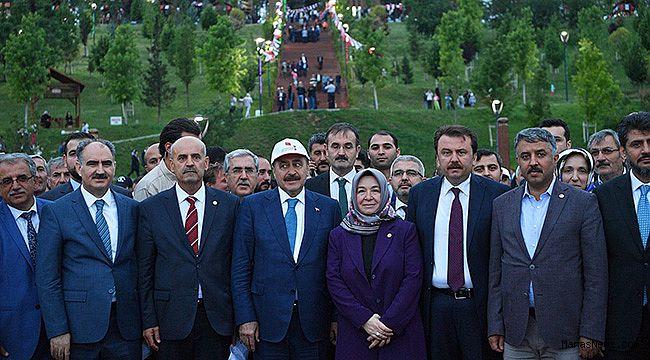 15 Temmuz Millet Bahçesi resmen açıldı