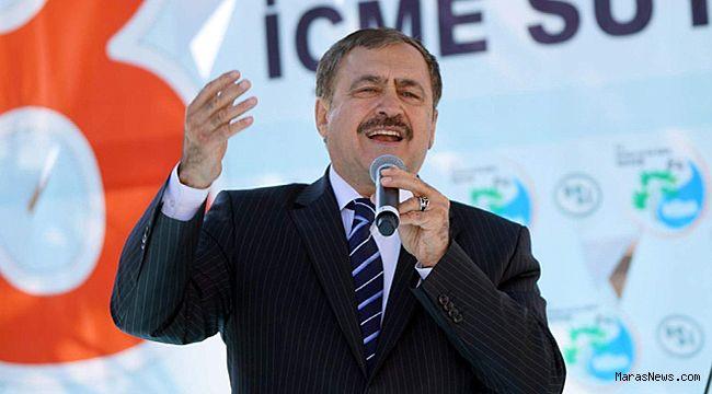Bakan Eroğlu, Kahramanmaraş'ta 5 tesisi hizmete açacak