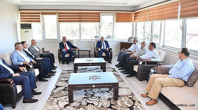 Başkan Mahçiçek, KMESOB'a ziyarette bulundu