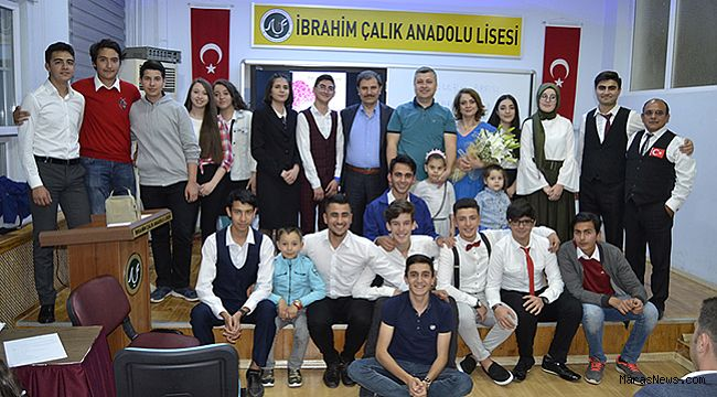 İbrahim Çalık Anadolu Lisesi'nde Yıl Sonu Etkinliği