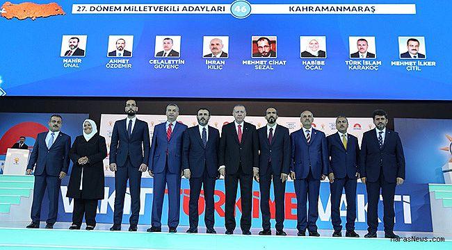 Kahramanmaraş AK Parti Adayları ilk kez görücüye çıktı