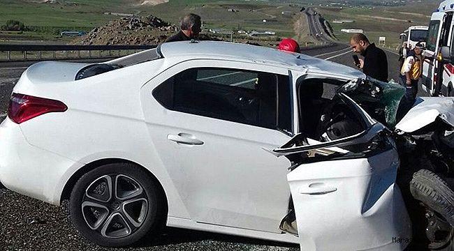 Kahramanmaraşlı esnaf Elazığ'da ki kazada hayatını kaybetti!