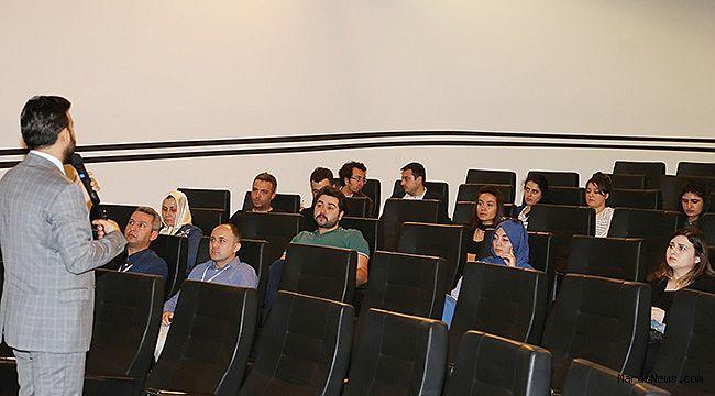 """KMTSO'da """"Teknolojiye Ulaşım Ve Sınai Mülkiyet"""" eğitimi yapıldı"""