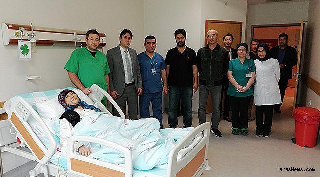 Necip Fazıl Şehir Hastanesi bir başarıya daha imza attı