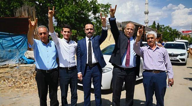 Pazarcık'ta Fatih Ceyhan Rüzgarı
