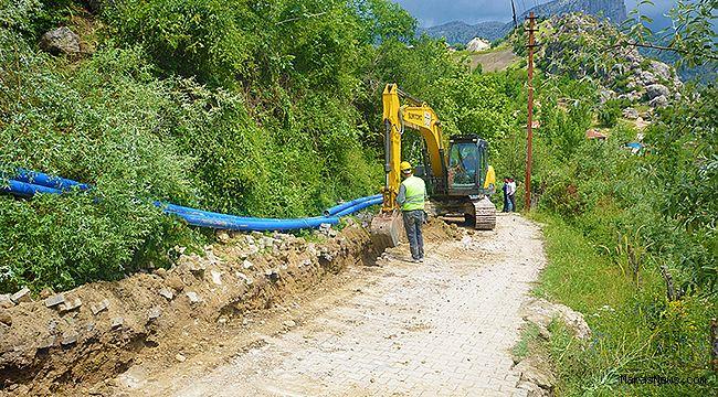 Şahinkayası'nda içme suyu şebekesi yenileniyor