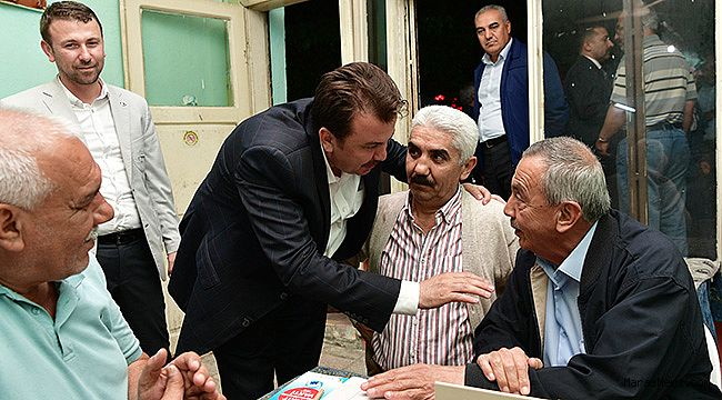 Başkan Erkoç'a Sevgi Seli