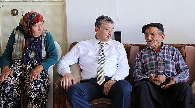 Celalettin Güvenç'ten, Ramazan Bayramı ziyaretleri