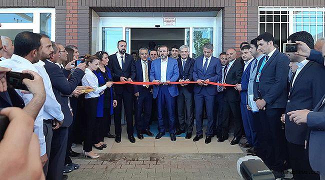 Elbistan'da Fizik Tedavi Ünitesi açıldı