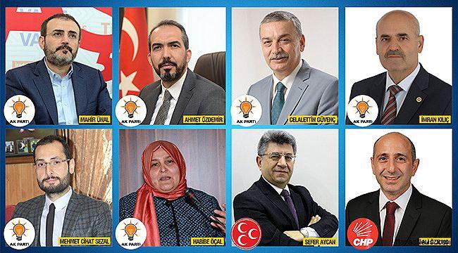 İşte Kahramanmaraş'ın Milletvekilleri