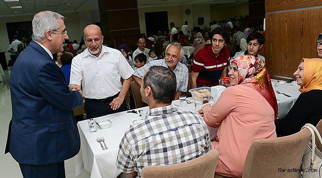 KSÜ Akademik Personeli, İftar Yemeğinde bir araya geldi