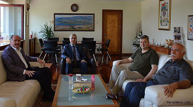 KSÜ Vakfı'ndan Rektör Can'a ziyaret