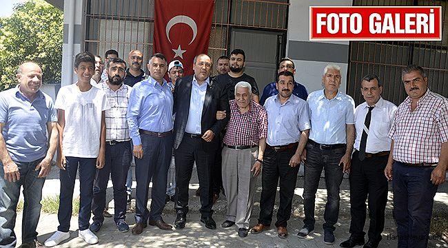 MHP'li Ceyhan Bakırcılar Odası'nı ve Sanayi Esnafını ziyaret etti