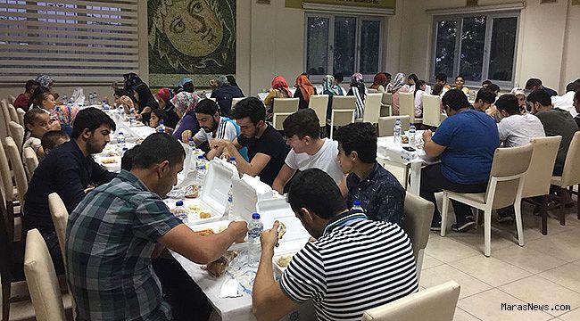 Şehit Çolak Durdu Kütüphanesi'nde iftar