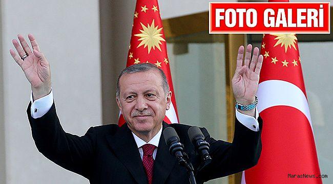 Cumhurbaşkanı Erdoğan, resmen göreve başladı