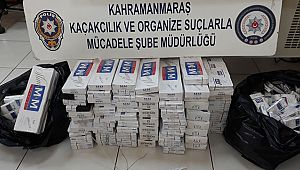 Kahramanmaraş'ta kaçak sigaraya geçit yok!