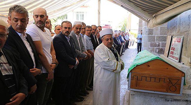 Mahir Ünal'ın vefat eden eniştesi Ali Rıza Dedeler toprağa verildi