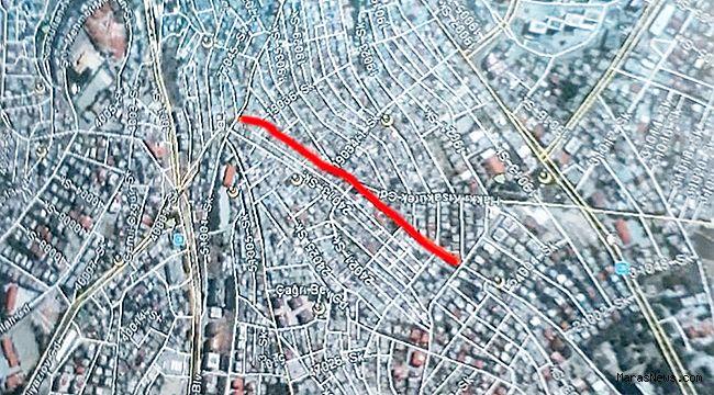 Mükremin Halil Caddesi 14 Gün Kapalı