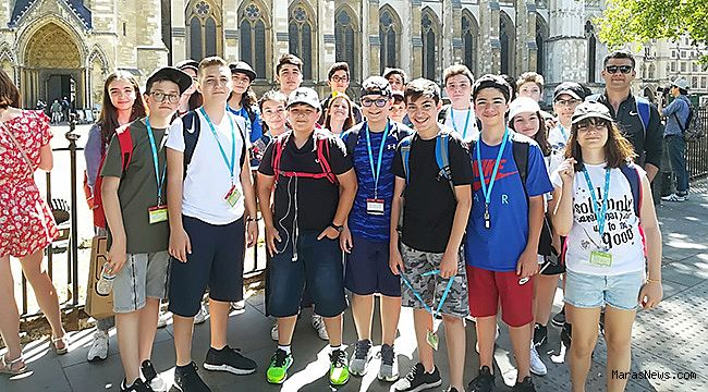 """Sanko Ortaokulu Öğrencileri """"İngiltere Yaz Kampı""""ndan döndü"""