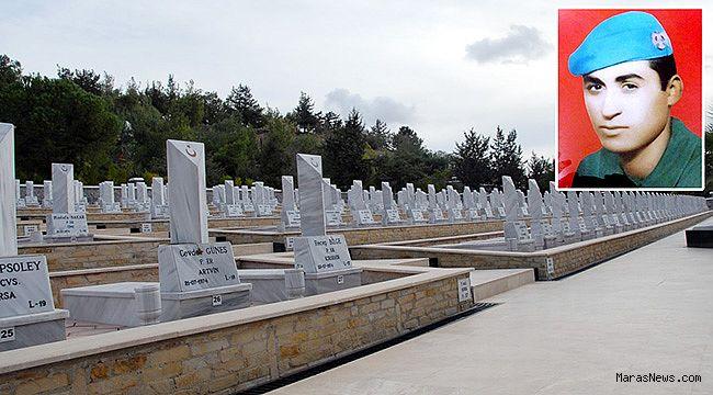 Türkoğlu'nun Kıbrıs Şehidi: Şeref Türk