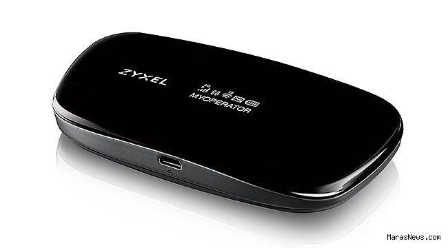 Zyxel 4.5 G modem ile ışık hızında taşınabilir internet