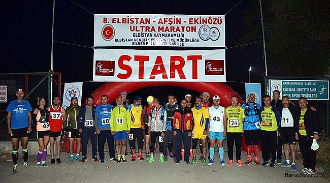 9. Elbistan-Afşin-Ekinözü Ultra Maratonu 6 Ekim'de start alacak