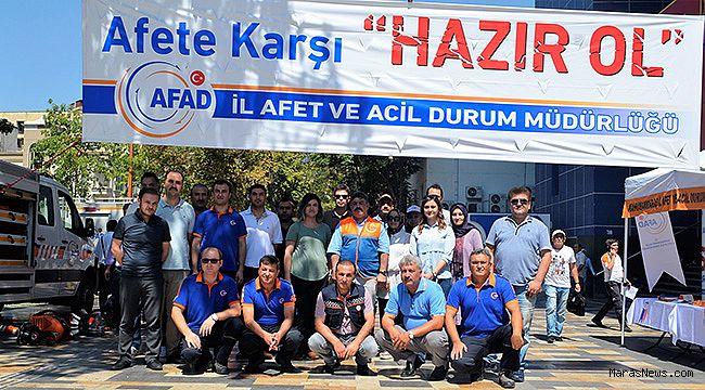 AFAD stant açtı, vatandaş inceledi!