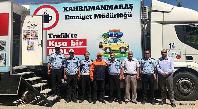 AFAD'tan 'Trafikte Kısa Bir Mola' Projesine Destek