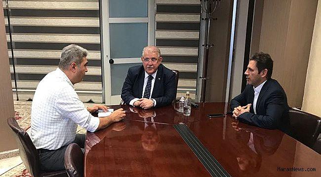 """""""Onikişubat Belediyesi Kızılay'a Kurban Bağışı Yaptı"""""""