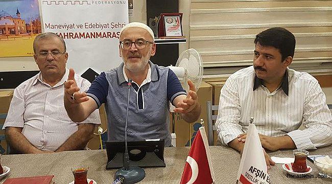 AFŞİNDER'de Muharrem ayının önemi konuşuldu