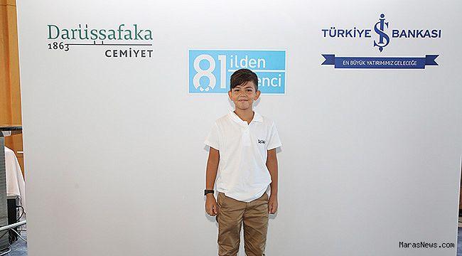 Kahramanmaraş'ın gururu Malik Sinan Özer Darüşşafaka'da