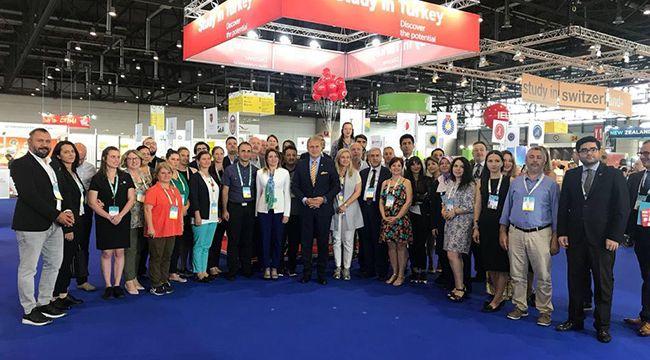 KSÜ, Avrupa'nın En Büyük Eğitim Fuarına katıldı