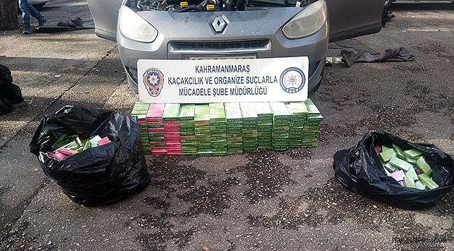 2 bin paket kaçak sigarayı zulalamışlar!