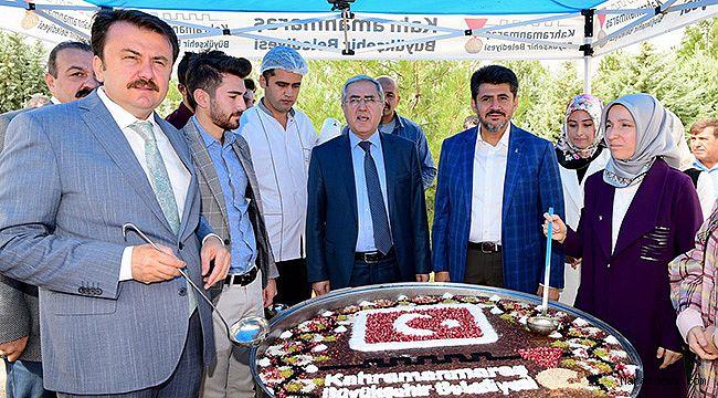 Büyükşehir'den KSÜ'de Aşure Programı