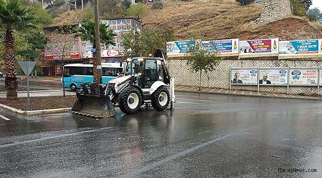 Büyükşehir Yağışlara Karşı Teyakkuzda