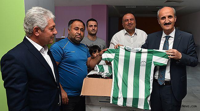 Dulkadiroğlundan Amatör Spor Kulüplerine malzeme yardımı