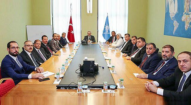 KMTSO Yönetimi Milletvekilleri ile Ankara'da biraraya geldi