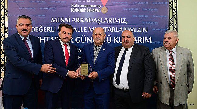 Muhtarlardan Başkan Erkoç'a Teşekkür