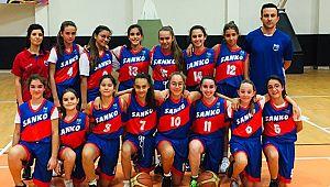 Sanko Okulları Yıldız Kız Basketbol Takımı il birincisi oldu