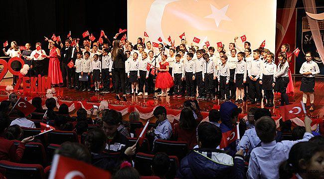 SANKO Okullarında Cumhuriyet Coşkusu