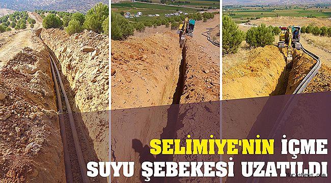 Selimiye'nin İçme Suyu Şebekesi uzatıldı